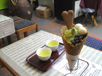 大谷園茶舗の抹茶パフェ