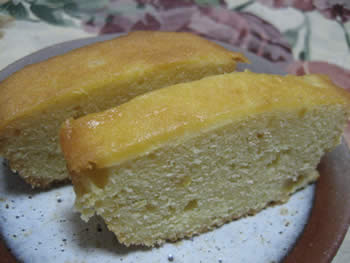 ゆずぱうんどケーキ
