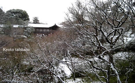 雪の東福寺
