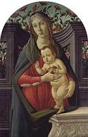 ボッティチェリ《聖母子》