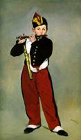 マネ《笛を吹く少年》