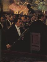 ドガ《オペラ座のオーケストラ》