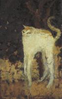 ボナール《白い猫》