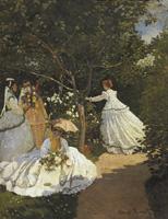 モネ《庭の女たち》