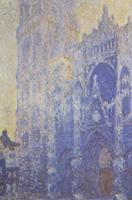 モネ《ルーアン大聖堂、大扉とサン・ロマン塔、朝の印象、白のハーモニー》
