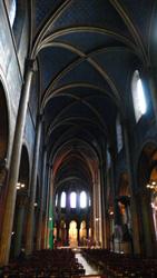 サンジェルマン・デ・プレ教会内部