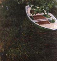 モネ《小舟》