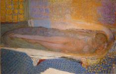 ボナール《入浴する裸婦》