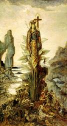 神秘の花(1890頃)