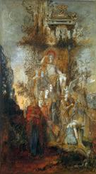 父なるアポロンの許を離れて世界を照らしにゆくミューズたち(1868)