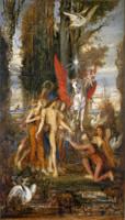 ヘシオドスとミューズたち(1860頃)