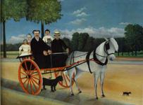 ルソー《ジュニエ爺さんの馬車》(1908)