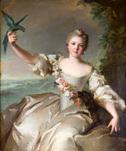ナティエ《ダンタン公爵夫人マチルドの肖像》