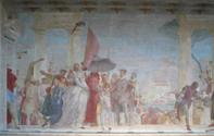 ティエポロのフレスコ画