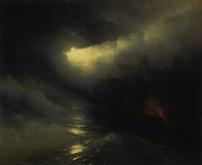 アイヴァゾフスキー《天地創造》(1864)