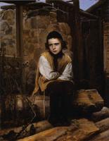 クラムスコイ《虐げられたユダヤの少年》(1874)
