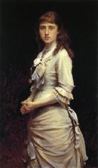 クラムスコイ《ソフィア・クラムスカヤの肖像》(1882)