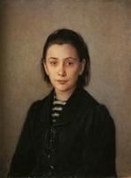 ゲー《オリガ・コスティチェワの肖像》(1891)