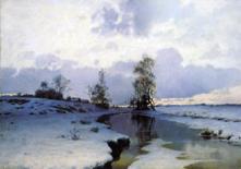 エンドグロフ《春の訪れ》(1885)
