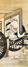 岩佐又兵衛《官女観菊図》(17世紀前半)