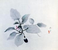 速水御舟《秋茄子》(1934年)