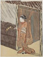 鈴木春信《見立太田道灌》(1767-68)