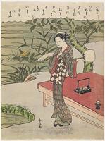 鈴木春信《三十六歌仙 小野小町》(1767)