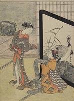 鈴木春信《身支度》(1765-69)