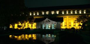 東博本館ライトアップ