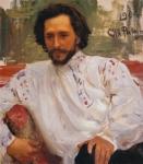 レーピン_劇作家レオニード・アンドレーエフの肖像