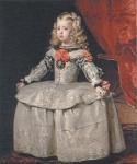 ベラスケス_白衣の王女マルガリータ・テレサ