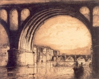 ブラングィン_アルビの古い橋