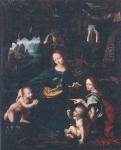 レオナルド・ダ・ヴィンチと弟子_岩窟の聖母