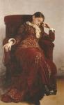 レーピン_妻-ヴェーラ・レーピナの肖像