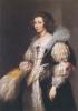 ヴァン・ダイク_マリア・デ・タシスの肖像