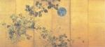酒井抱一_月に秋草図屏風