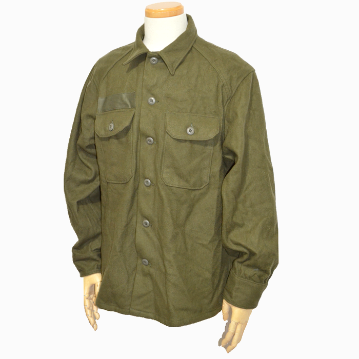 米軍ウールシャツ