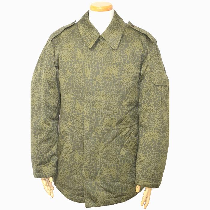 ポーランド軍 M89 PUMAカモ 防寒用 フィールドジャケット Lサイズ 未使用、新品の商品画像