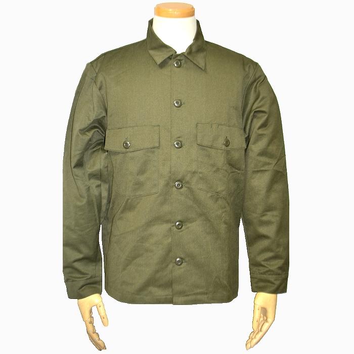 80s オランダ軍実物 OD長袖ユーティリティシャツ SEYNTEX製 Mサイズ 未使用、新品の商品画像
