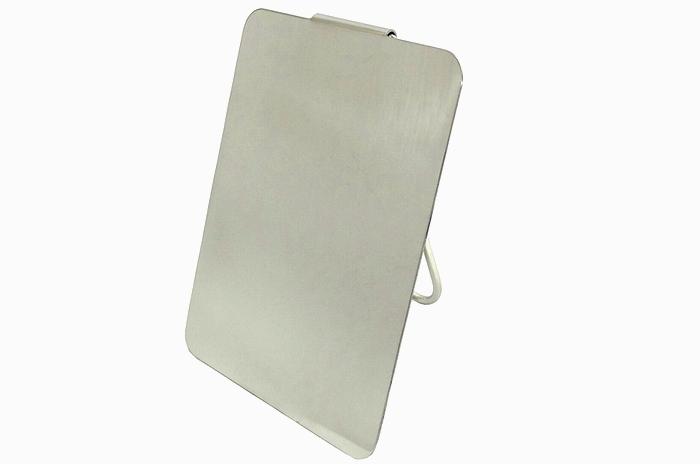 イタリア軍実物 ステンレス製シグナルミラー (折りたたみ式) 未使用、新品の商品画像