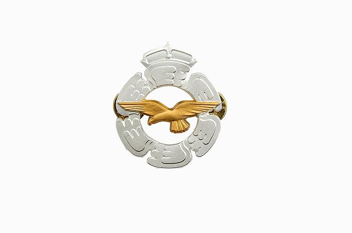 フィンランド空軍(Air Force) 金属製 徽章バッジ 未使用・新品の商品画像