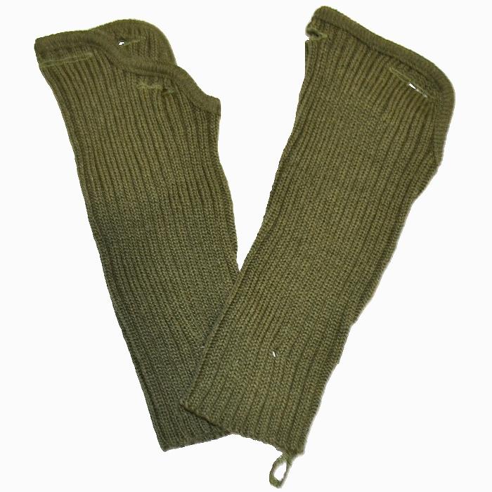 オランダ軍 ウール製 OD ハンドウォーマー フリーサイズ 未使用・新品の商品画像