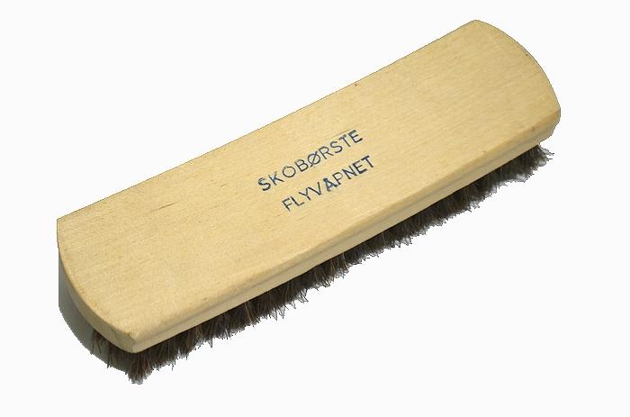 60s スウェーデン軍実物 木製豚毛ブラシ 未使用・新品の商品画像2