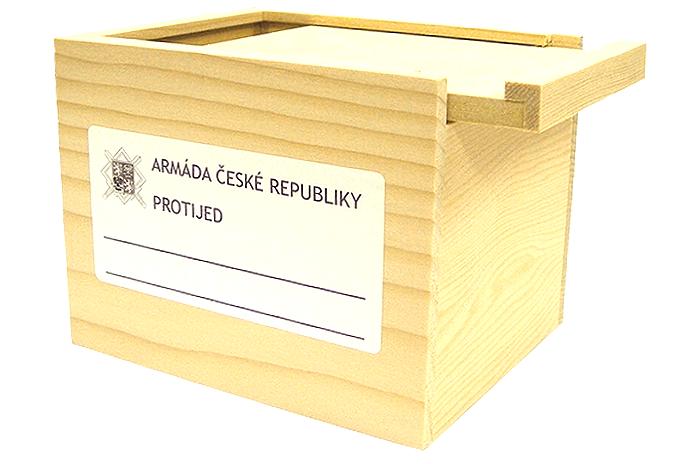 チェコ軍 木製メディカルボックス 未使用・新品の商品画像