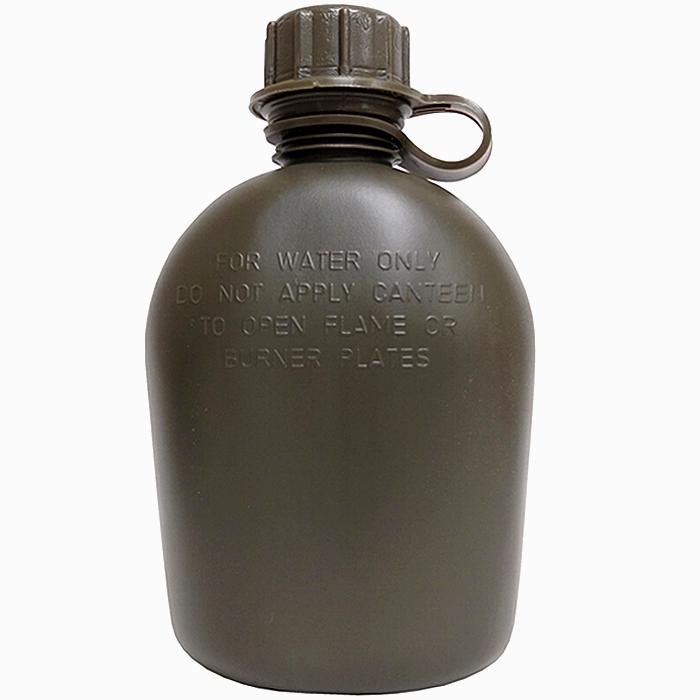 米軍実物 1QT キャンティーン(水筒) OD プラスチック製 未使用・新品の商品画像