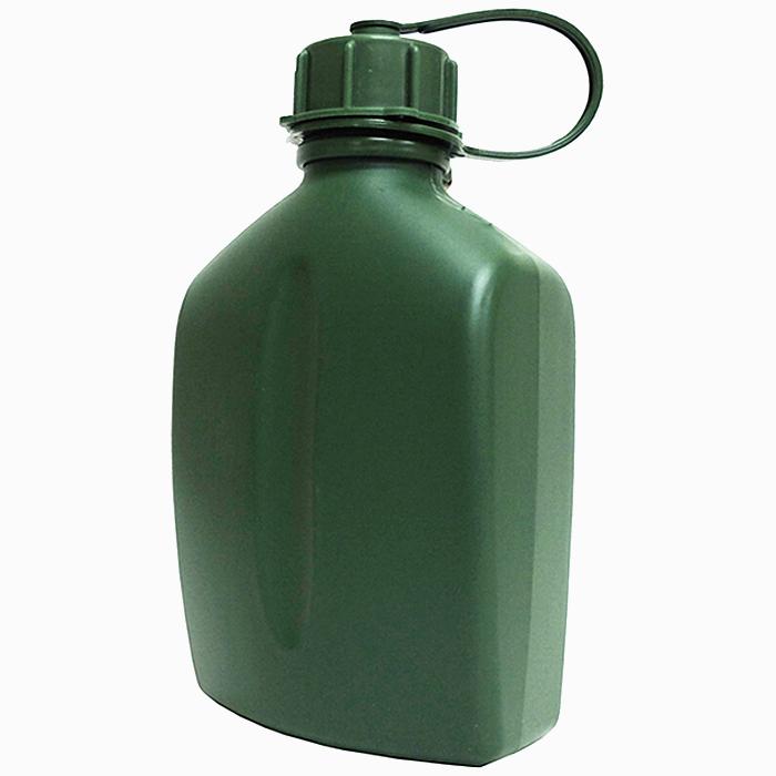 フィンランド軍 プラスチック製 キャンティーン(水筒)1リットルサイズ オリーブグリーン 未使用・新品の商品画像