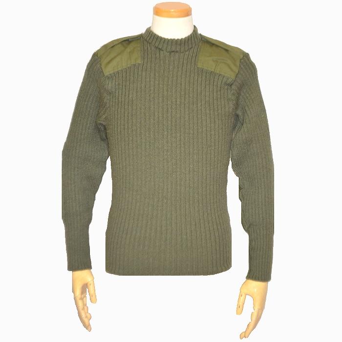 イギリス軍 OD コマンドセーター Sサイズ USED品の商品画像