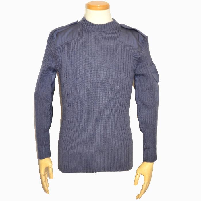 イギリス軍 コマンドセーター ブルーグレー Sサイズ USED品の商品画像