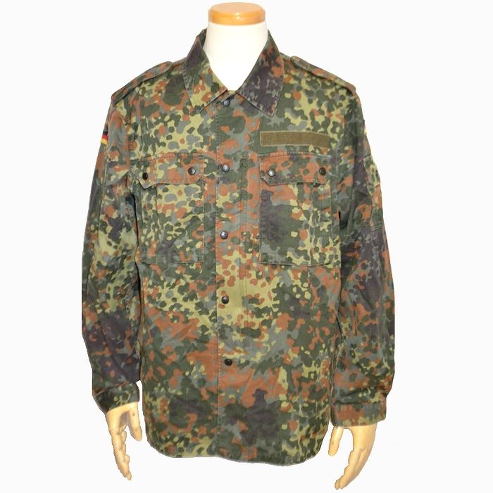 ドイツ軍 フレックカモ フィールドシャツジャケット Lサイズ USED品の商品画像