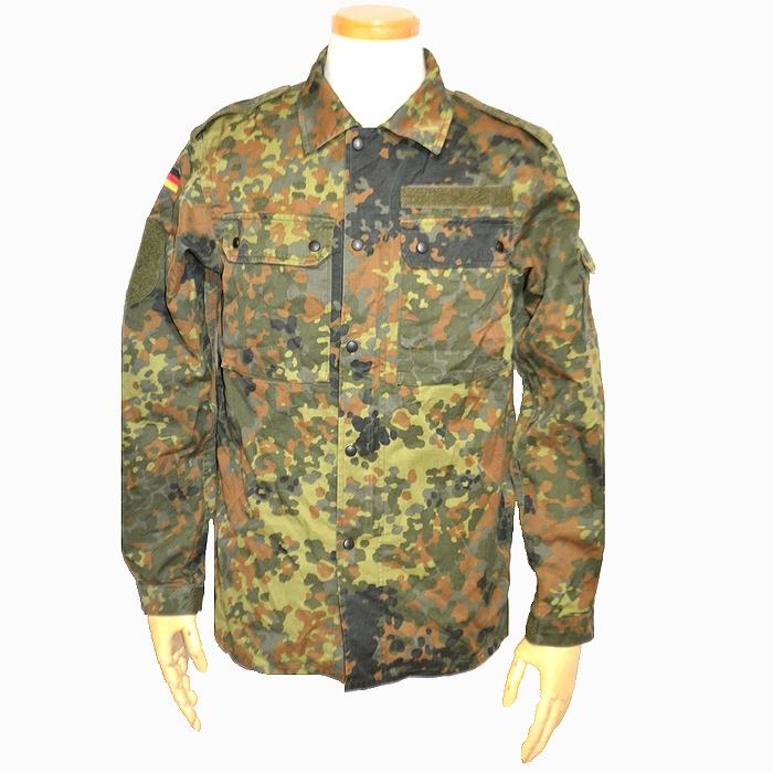 ドイツ軍 フレックカモ フィールドシャツジャケット XLサイズ USED品の商品画像